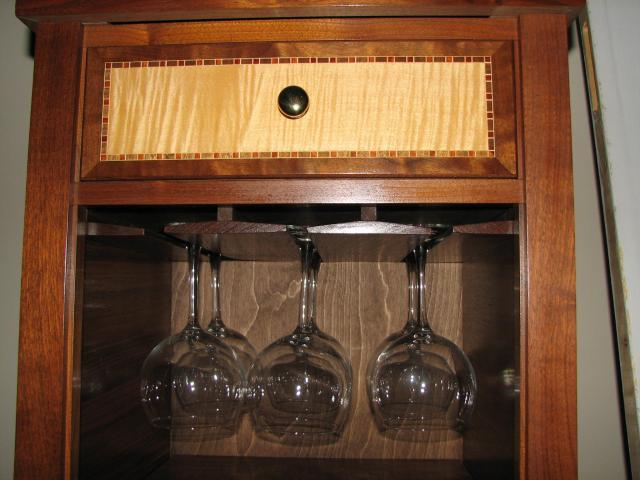 plans wine glass rack